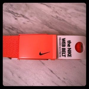 Nike Golf orange belt